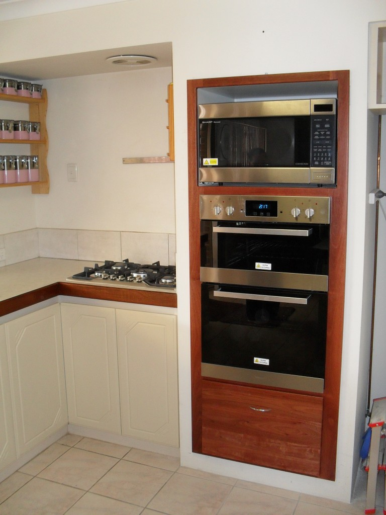 Uncategorized Kitchen Appliances Perth kitchen appliance installation walters carpentry gas oven and cabinet ellenbrooke