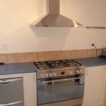 Freestanding Cooker  and Rangehood Installation  After