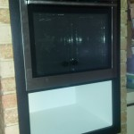 Oven and Cabinet