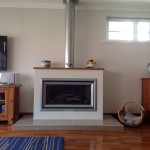 Symmetry gas heater and cabinet installation Cottesloe
