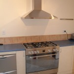 Freestanding Cooker  and Rangehood Installation  After